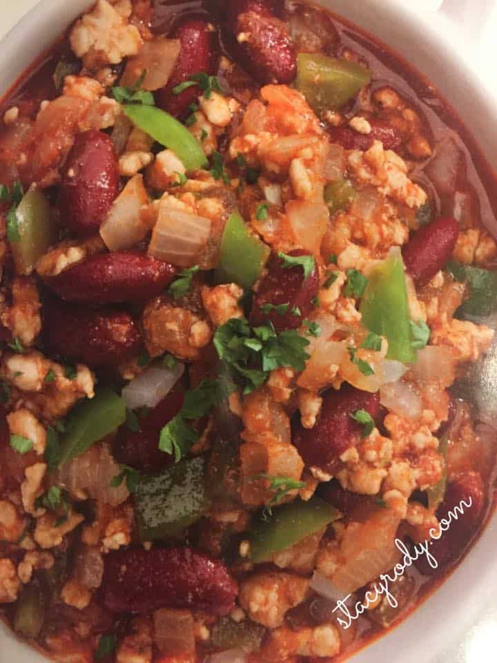turkey chili recipe, turkey chili, gluten-free recipes
