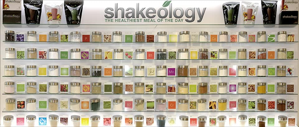 shakeology ingredients, what is in shakeology, nutrition label