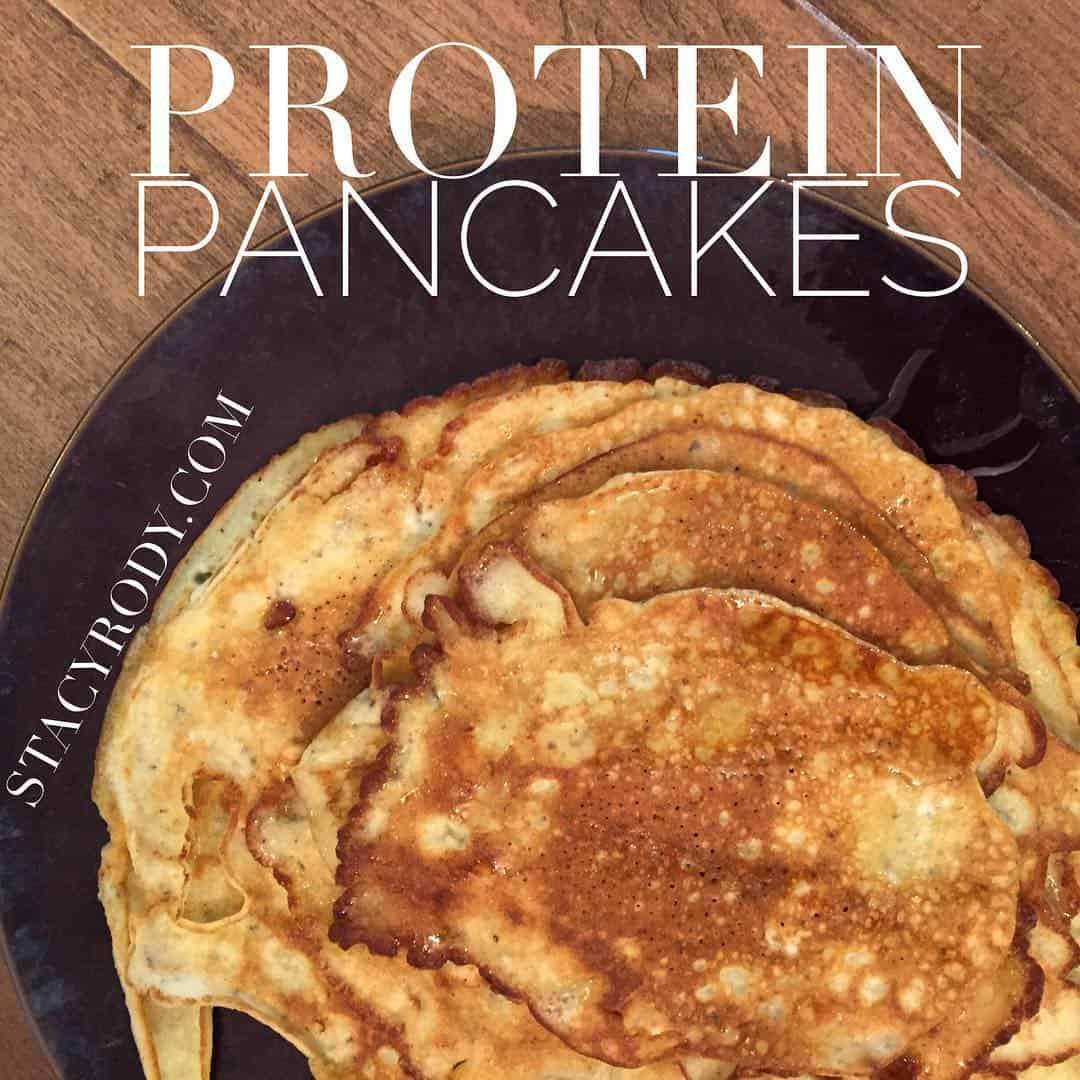 protein pancake recipe, protein pancakes, gluten-free, gluten-free pancakes, pamela's gluten-free pancake mix,