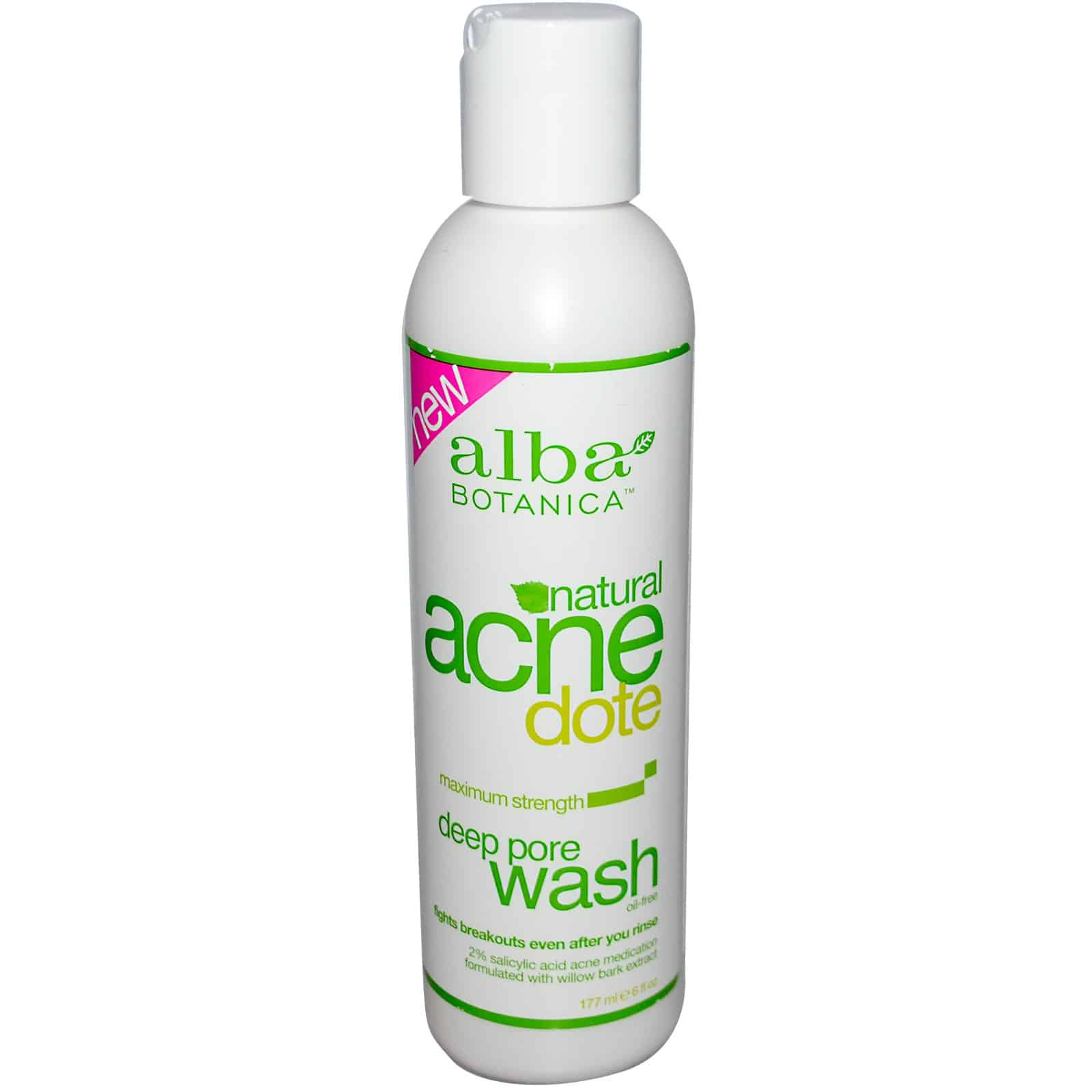 best face wash, alba botanica, best facial cleanser