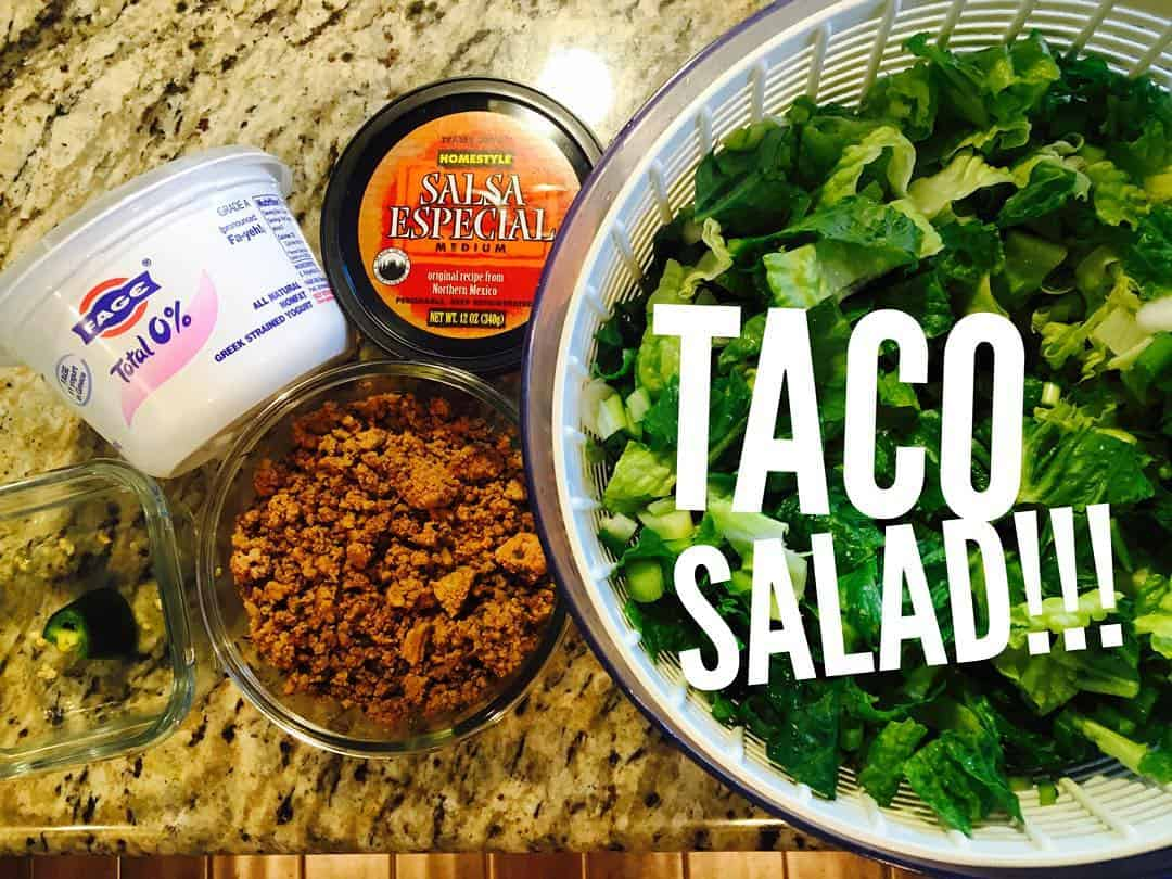 taco salad, clean eating, stacy rody,