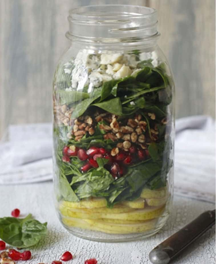Mason-Jar-Salad-Recipe-Pomegranate-and-Pear-Salad