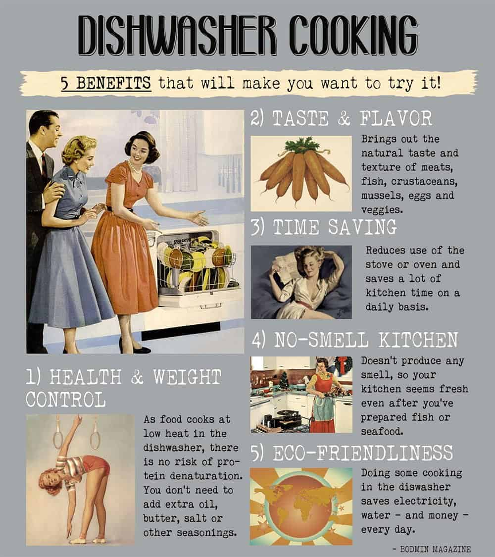 Dishwasher Cooking Advantages
