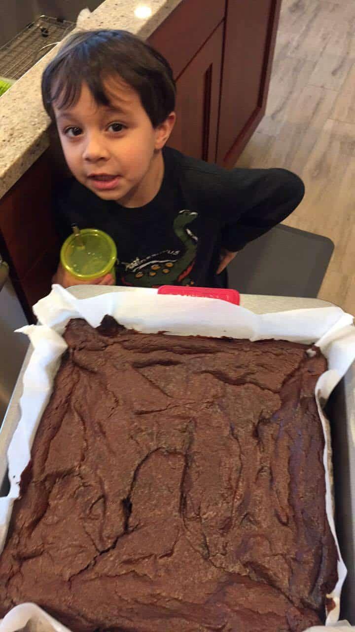avocado, avocado brownies, avocado dessert, avocado chocolate brownies, gluten-free brownies
