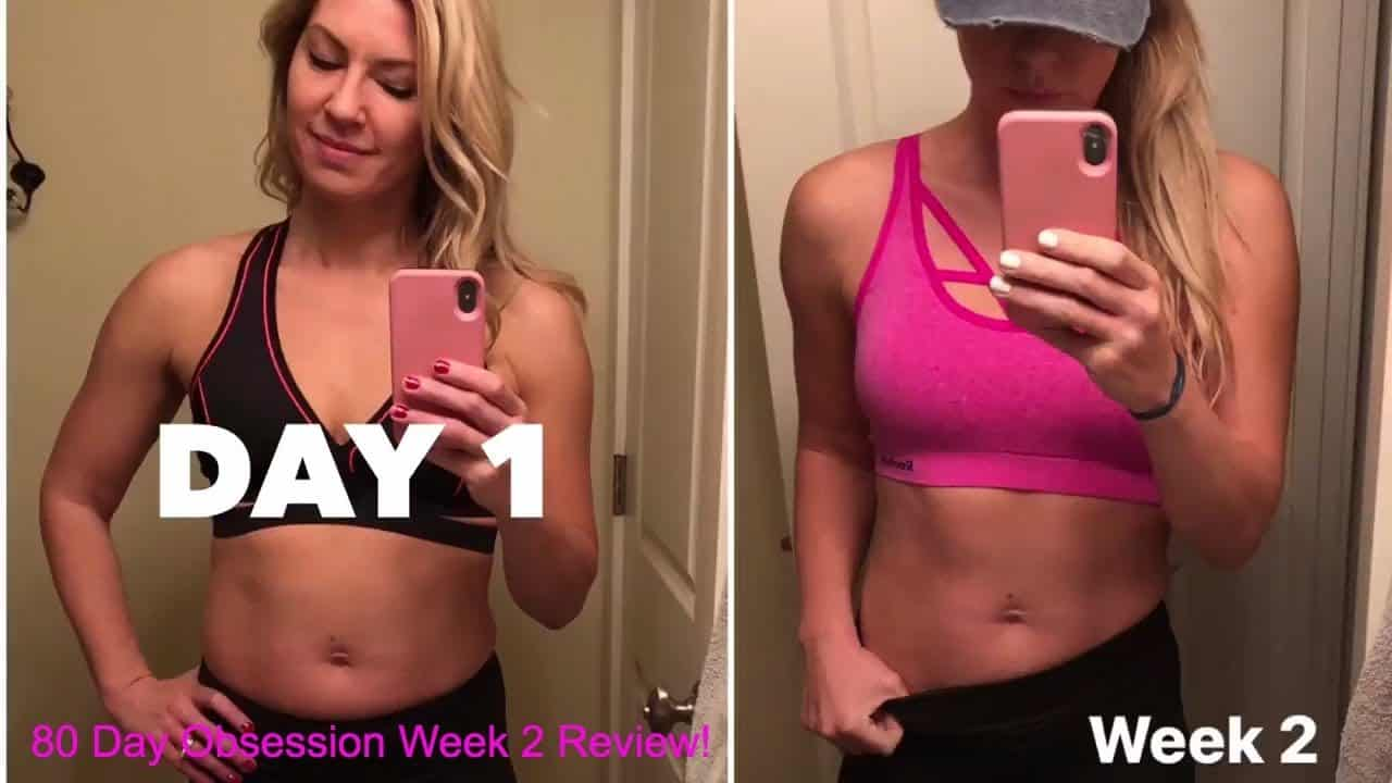 Week Two Review of 80 Day Obsession - A Mom's Journey of Weight Loss Transformation