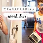 Transform :20 Week 3 Review!  Weight Loss Transformation!